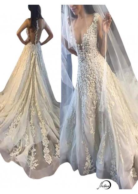 2021 Beach Wedding Ball Gowns T801524715046