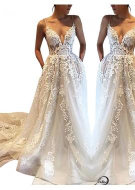 2020 Beach Wedding Dresses T801524714695