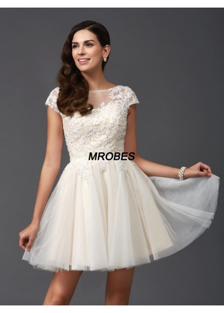 Sexy Short Homecoming Prom Evening Dress T801524710265