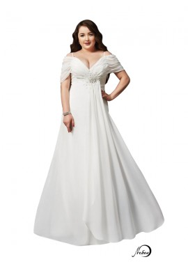 White Long Plus Size Prom Evening Dress T801524704103