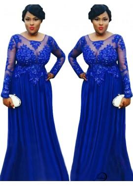 Plus Size Prom Evening Dress T801524704712
