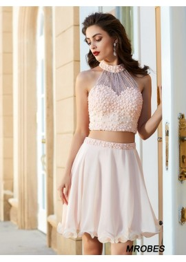 2 Piece Short Homecoming Prom Evening Dress T801524710355