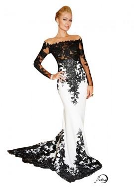 Mermaid Long Prom Evening Dress T801524704054