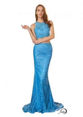 Two Piece Long Prom Evening Dress T801524708260