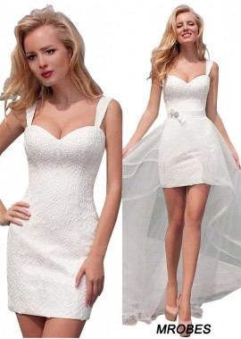 Beach Short Wedding Dresses T801525318089
