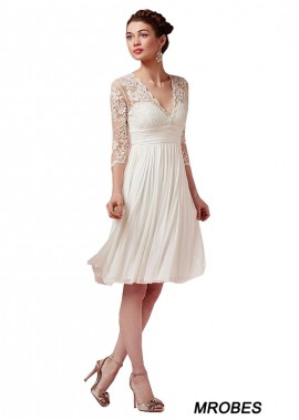 Beach Short Wedding Dresses T801525317575