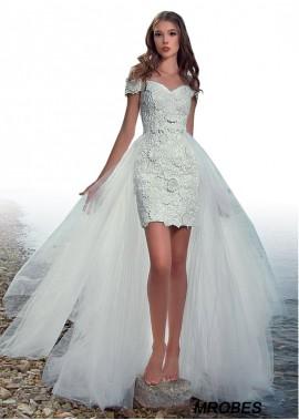 Beach Short Wedding Dresses T801525320213