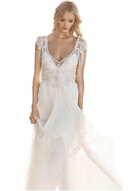 Beach Wedding Dresses T801525319929
